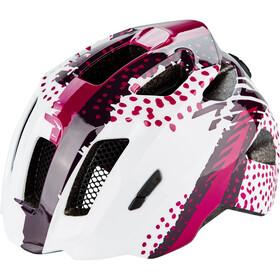 Cube Fink Lapset Pyöräilykypärä , violetti/valkoinen